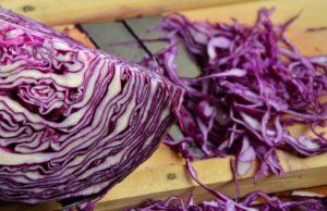 Красная капуста содержит антиоксиданты