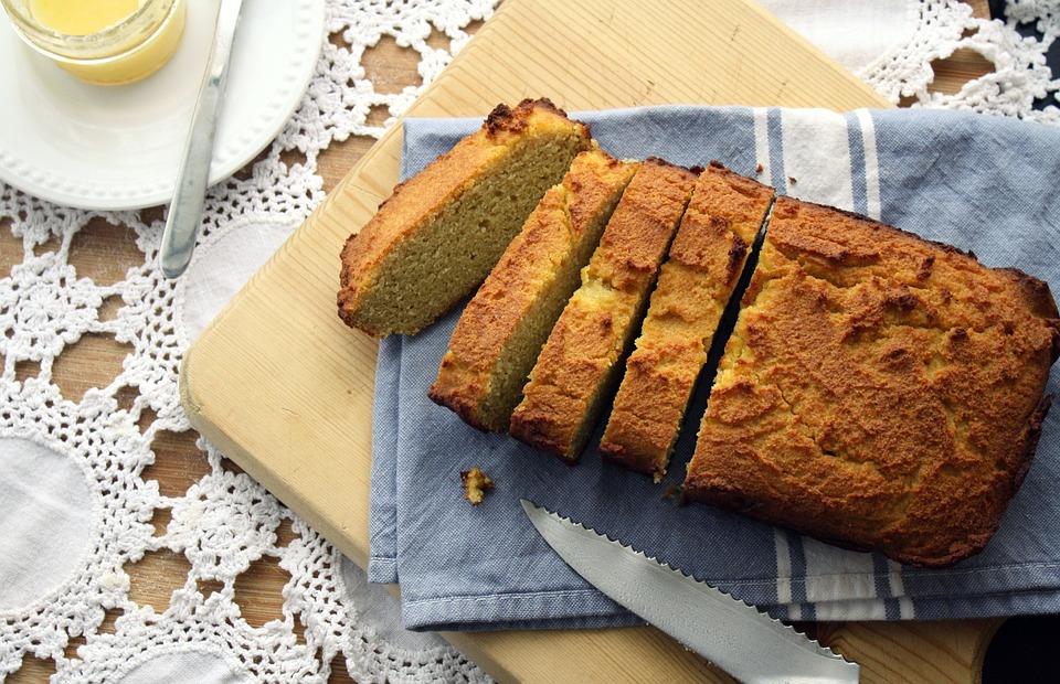 Полезный безглютеновый хлеб с кокосовой мукой